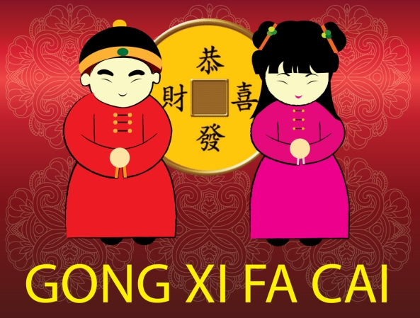 Gong Xi Fa Cai - Happy Chinese New Year!